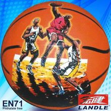 Rubber made new style colorful heavy material US basketball