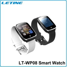 letine unique design smart watch with Heart rate monitor+pedometer+bluetooth wristwatch