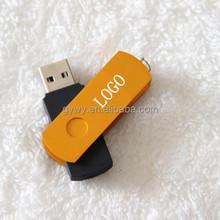 4 gb rotating usb flash drive Metal usb flash drive 4 gb, can customize logo