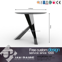 Popular modern high end round stone coffee tabless, round stone coffee tables