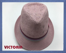 New style fashionable party hat,fedora straw hat printed in beautiful flowers