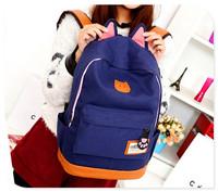 Cute cat ears school bag best 2014 popular backpack brands