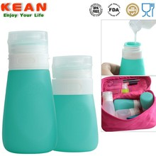 Carrying on toiletries travel size bottles