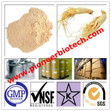 Super siberian ginseng extract from GMP ISO HACCP certified manufacture