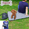 2015 NEW ARRIVAL Pet Dog Mat Grooming Product Protable Dog Paw Cleaning Mat Disposable Pet Mat