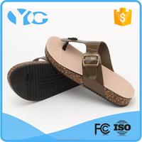 steel toe sublimation white flip flops for men