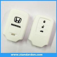 Colorful car key in key silicone car key cover for hond a hot sell silicone key cover