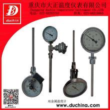 Contacto eléctrico de bi- termómetro de metal hecho en china