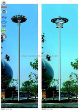 Steel lighting monopole lamp single traffic collapsible post