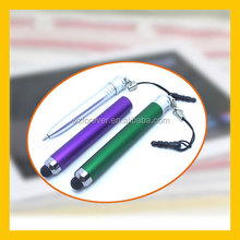 2 in 1 Plastic Capacitive Touch Ball pen