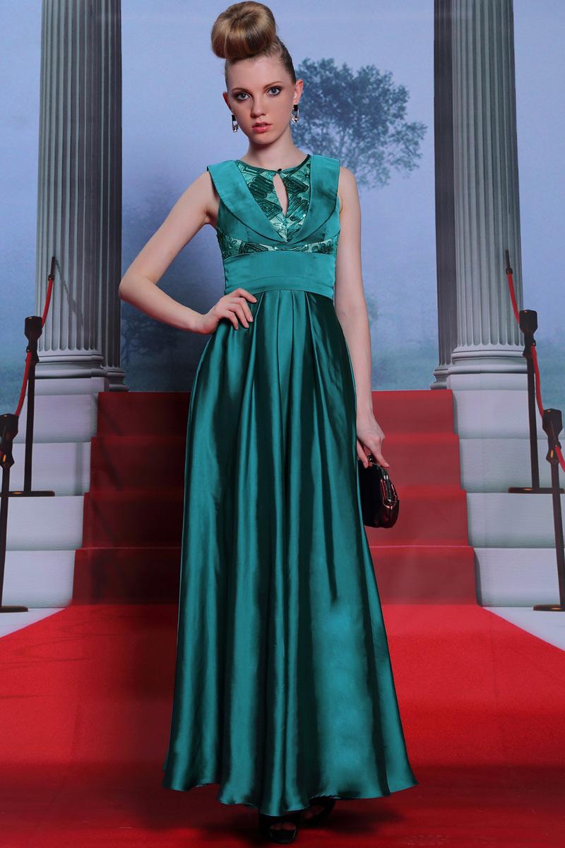 Turquoise sequin plus size dress