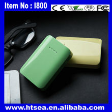 Chinese extrnal mobile phone charger unique design, 5000 mah power bank for iphone