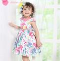 de moda y hermoso vestido de las niñas vestidos de cumpleaños