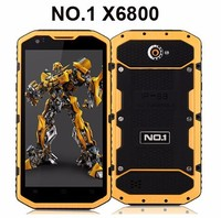 Original NO.1 M2 Rugged Waterproof IP68 MTK6582 Quad Core 4.5'' Android 5.0 1GB RAM 8GB ROM 13MP Mobile Phone 14.5MM Ultra Thin