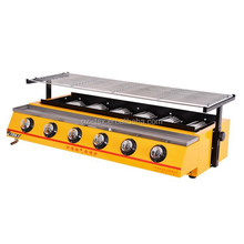 ET-K233 industrial barbecue gas grill, gas grill barbecue chickens