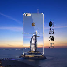 Cheap goods from china Beautiful scenery tpu Case Skins Cover case for iphone 6 ultra thin case tpu wholesale