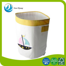 Hot selling home storage delicates foldable polyester laundry bag canvas dirty laundry bag