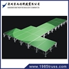 Folding Portable Stage And Crowd Fencing Barrier For Show