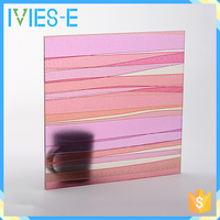 Good performance resin material bright colors wall sliding panel