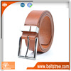 Good cool man leather belt with personality belt buckle