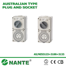 Australian Standard Switch Plug and Socket 56CV IP66
