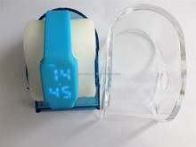 2015 new product LED watch usb flash drive, silicone time watch usb memory 8gb, 16gb,32gb