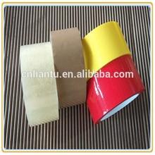 de plástico adhesivo bopp cinta círculo