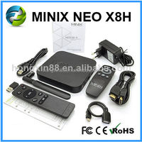 Minix XBMC Android 4.4 tv box x8 atomizer Quad core Android Minix NEO X8h