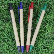 Cheap bulk environmental protection paper press ballpoint pen wholesale