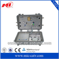 Outdoor CATV Optical Receiver with GaAs catv module andimported push-pull module and power-doubled amplification module