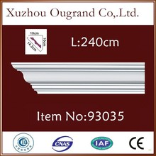 bedroom pu cornice wooden carving wall decoration