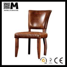 De luxo italiana couro vintage antique cadeira da sala de jantar MKLA24