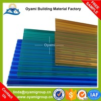 100% markrolon raw material uv coated patio cover materials polycarbonate sheet for project