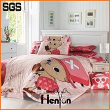 custom print 3D branded bed sheet