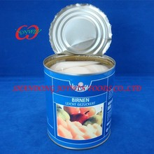 Wholesale china canned food, canned pears halves in light syrup, pear canning syrup