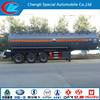 3 axle stainless steel fuel gasoline tank semi trailer 40000liters oil tank semi trailer cabon steel fuel tank semi trailer
