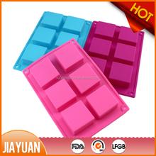 FDA standard silicon soap mold rectangle