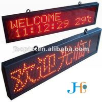 High brightness led glow sign boards