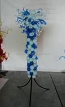 Large Art Glass Floor Lamp Attractive Floor Sculpture
