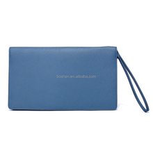 High quality women's wallet genuine leather envelope clutch bag leather coin purse