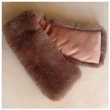 nueva venta al por mayor productos de piel de conejo rex cuello cuadrado en pieles de los animales para prendas de vestir