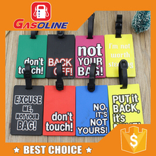 Recyclable reusable aluminum luggage tag