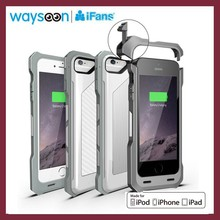 For iPhone 6 Battery Case 3500mAh MFi Certified With Unique Buckle Easy to Install and Uninstall