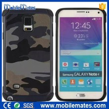 Cool Army Camouflage Case For Samsung Note 4, Detachable 2 in 1 TPU+ PC Hard Case for Samsung Galaxy Series Cell Phone Covers