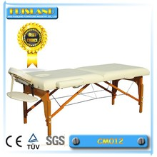 wooden Mixed Color Portable Massage table for sale