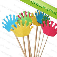 Good Quality Hot sell Bamboo Colourful Party Pick for Food