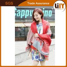oem print silk Promotion & Premium Gift scarf fancy scarf