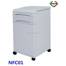 NFC01 Durable and easy cleaning abs hospital bedside lockers