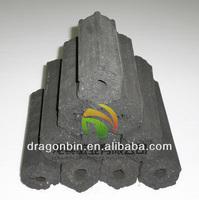 Hexagon Shape Hardwood Briquette Charcoal