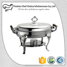 C836TIL Roll Top Chafer For Hotel Equipment 1/1 Food Pan design Buffet Food Warmer Capacity 5L